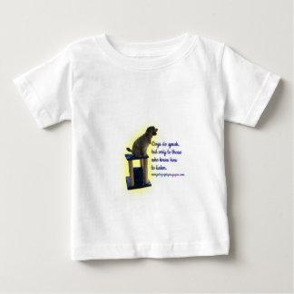 Camiseta De Bebé Los perros hablan