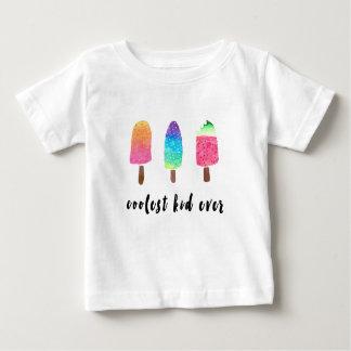 Camiseta De Bebé Los Popsicles siempre coloridos más frescos de la