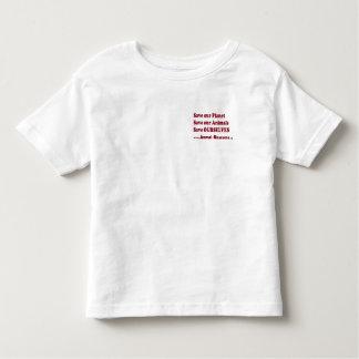 Camiseta De Bebé los salvadores animales ahorran animales de la