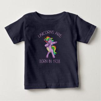 Camiseta De Bebé Los unicornios son en 1928 actitud linda nacida de