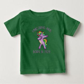 Camiseta De Bebé Los unicornios son en 1929 actitud linda nacida de