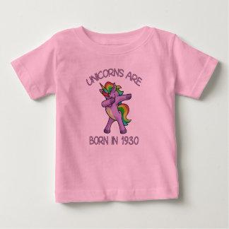 Camiseta De Bebé Los unicornios son en 1930 actitud linda nacida de