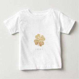 Camiseta De Bebé lucky2ddada535ea3b4fd338715f4d90f8d93