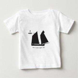 Camiseta De Bebé lugger del país del oeste 1887 - fernandes tony