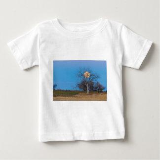 Camiseta De Bebé Luna mega del castor