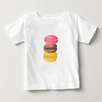 Camiseta De Bebé Macarrones de la acuarela de los dulces del