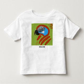 Camiseta De Bebé Macaw
