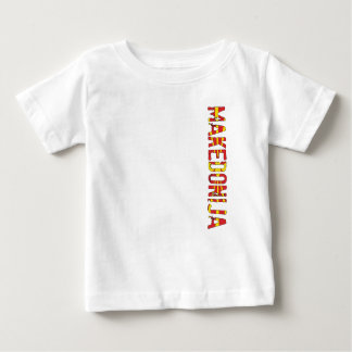 Camiseta De Bebé Macedonia