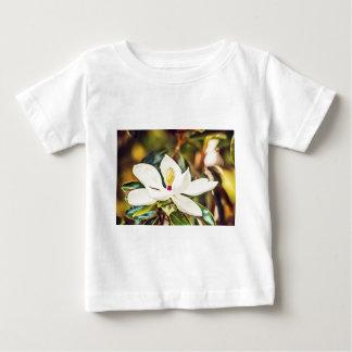 Camiseta De Bebé Magnolia en la floración