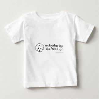 Camiseta De Bebé maltés