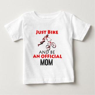 Camiseta De Bebé mamá de la motocicleta