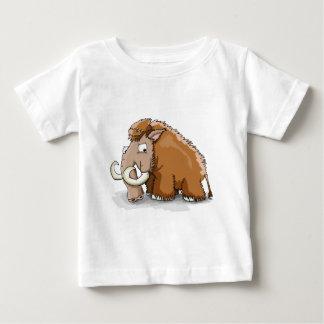 Camiseta De Bebé Mamut grande del dibujo animado del tronco y de