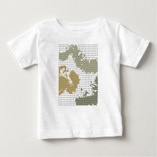 Camiseta De Bebé Manchado