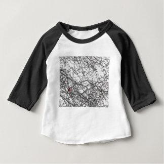 Camiseta De Bebé Manche al cardenal