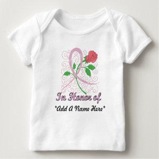 Camiseta De Bebé Manga larga infantil adaptable del cáncer de pecho
