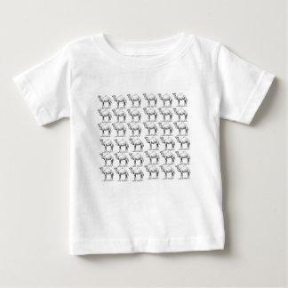 Camiseta De Bebé manojo de manada de los camellos