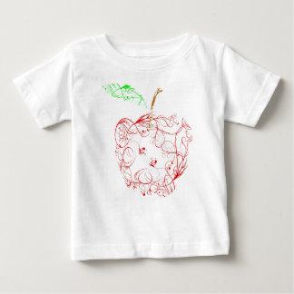 Camiseta De Bebé manzana