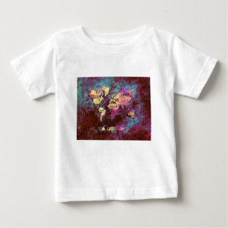 Camiseta De Bebé mapa del mundo