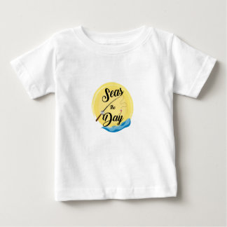 Camiseta De Bebé Mares el día