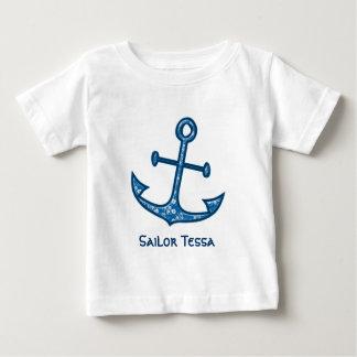Camiseta De Bebé marinero oh mi marinero