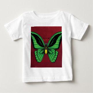 Camiseta De Bebé Mariposa de Birdwing de los mojones