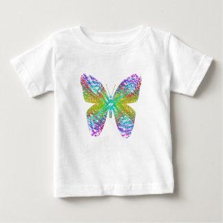 Camiseta De Bebé Mariposa psicodélica