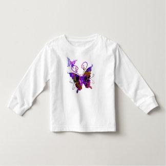 Camiseta De Bebé Mariposas de la fantasía