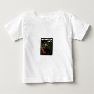 Camiseta De Bebé marrón gigantesco de la cueva