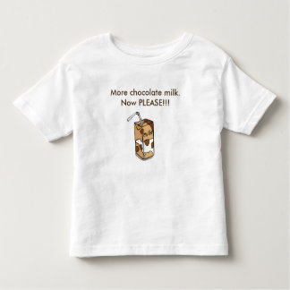 Camiseta De Bebé Más chocolate caliente