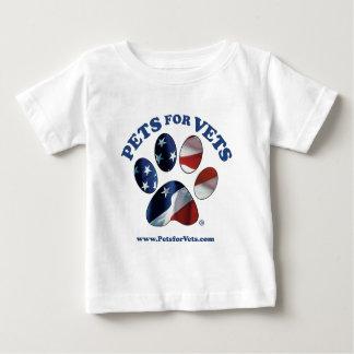 Camiseta De Bebé Mascotas para los veterinarios