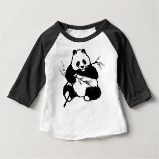 Camiseta De Bebé Masticación de la panda