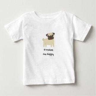 Camiseta De Bebé Me hace barro amasado feliz