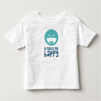 Camiseta De Bebé Me hace feliz