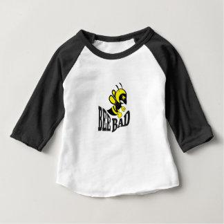 Camiseta De Bebé medio del malo de la abeja