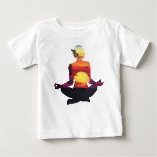Camiseta De Bebé Meditación de la yoga