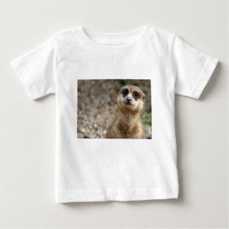 Camiseta De Bebé Meerkat Grande-Observado lindo