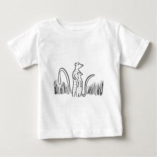 Camiseta De Bebé Meerkats