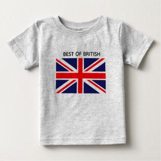 Camiseta De Bebé Mejor de Británicos