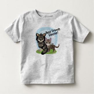 Camiseta De Bebé ¡Mejores amigos para siempre! Margarita y Angus