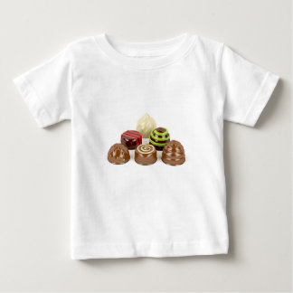 Camiseta De Bebé Mezcla de caramelos de chocolate