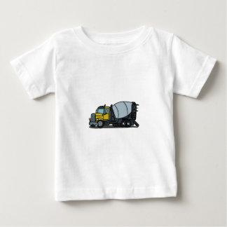 Camiseta De Bebé Mezclador concreto del camión del cemento