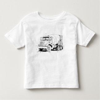 Camiseta De Bebé Mezclador de cemento