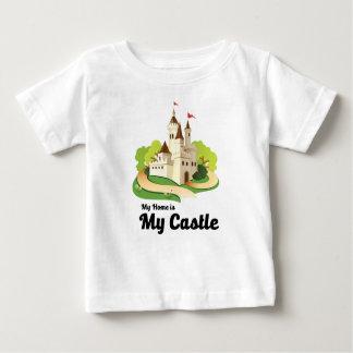 Camiseta De Bebé mi hogar mi castillo