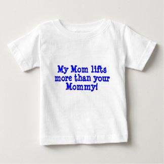Camiseta De Bebé Mi mamá…