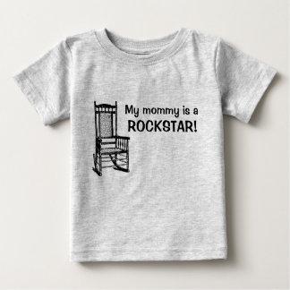 Camiseta De Bebé ¡Mi mamá es una rockstar!
