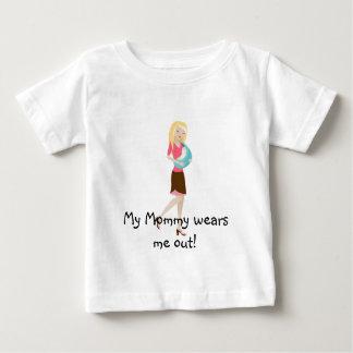 Camiseta De Bebé ¡Mi mamá me usa!