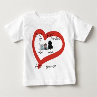 Camiseta De Bebé Mi Moodles es mis mejores amigos