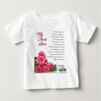 Camiseta De Bebé Mi primer arte de la poesía del amor de Stanley