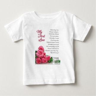 Camiseta De Bebé Mi primer poema del amor