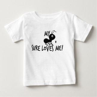 Camiseta De Bebé ¡Mi tía B Sure Loves Me!